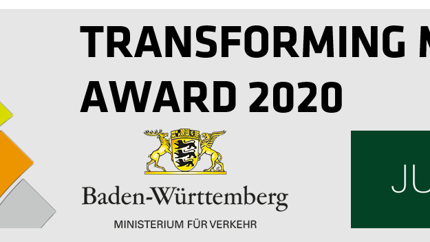 Award Transforming Mobility 2020 Logo