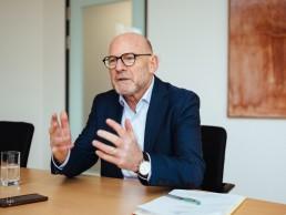 Verkehrsminister Winfried Hermann